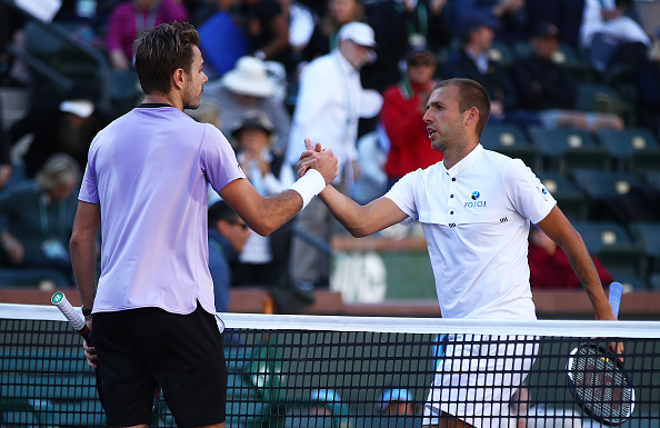 Indian Wells | Wawrinka squeezes past Evans