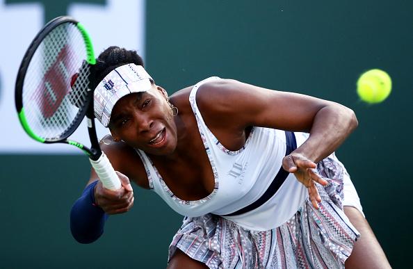 Indian Wells   Venus Williams takes out Kvitova