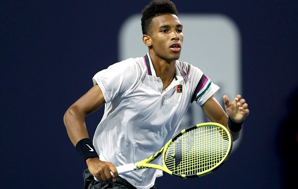Miami | Auger-Aliassime sets new record.