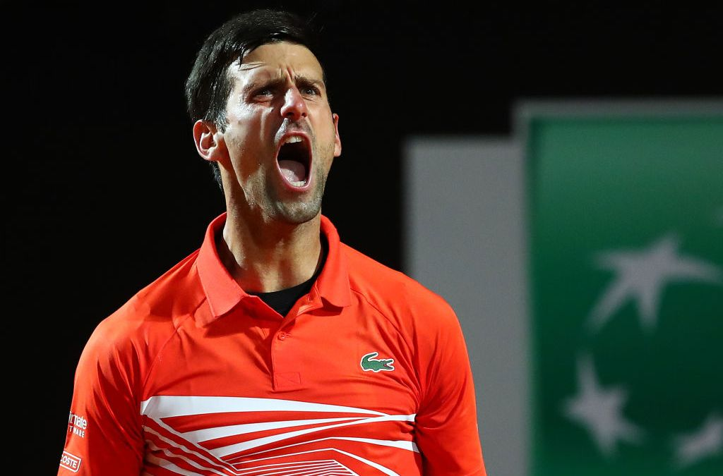 Rome   Djokovic beats Del Potro in match of the year, Nadal advances, Federer withdraws