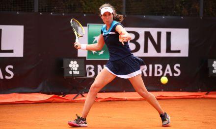 Rome | Konta advances with assertive debut win