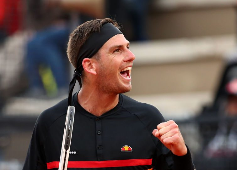 Rome   Norrie wins in debut, Edmund and Evans lose hard-fought battles