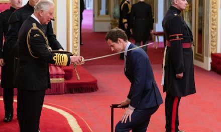 London | Sir Andy Murray finally receives knighthood at Buckingham Palace