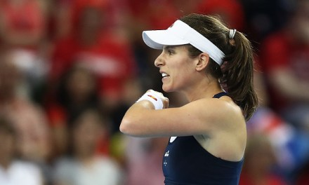 Rabat | Konta edges into last eight