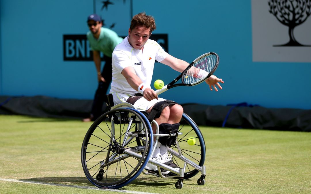 London   Hewett and Reid to contest wheelchair final