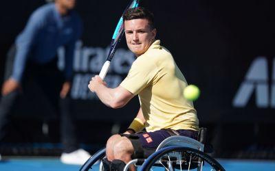 Paris   Reid beats the Wheelchair World No1.