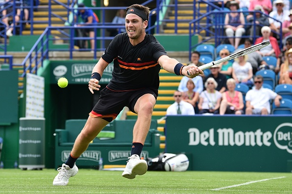Eastbourne | Corrie and Evans through; Murray's doubles run ends