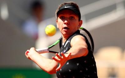 Paris   Halep sweeps into quarters to meet Anisimova