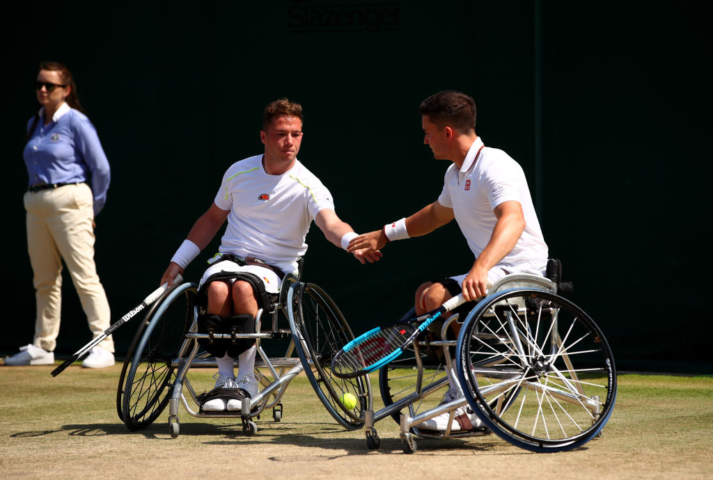 Nottingham | Wheelchair Tennis Superstars ready for British Open
