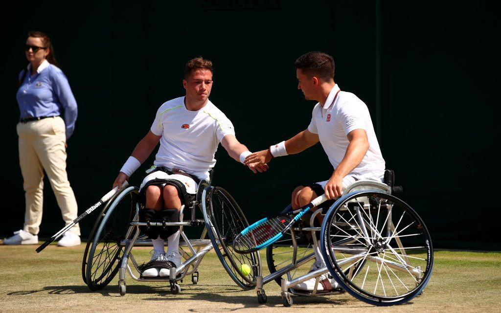 Nottingham   Wheelchair Tennis Superstars ready for British Open