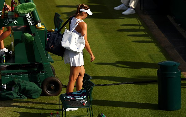 Wimbledon | Sharapova retires as Serena is tested