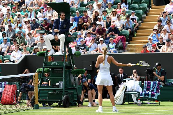 Wimbledon | Woz's dust-up with Hawkeye