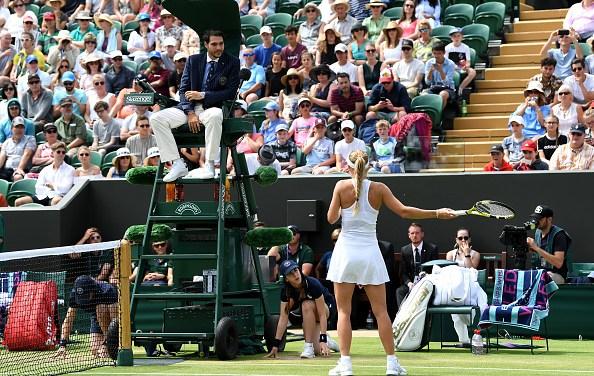 Wimbledon   Woz's dust-up with Hawkeye