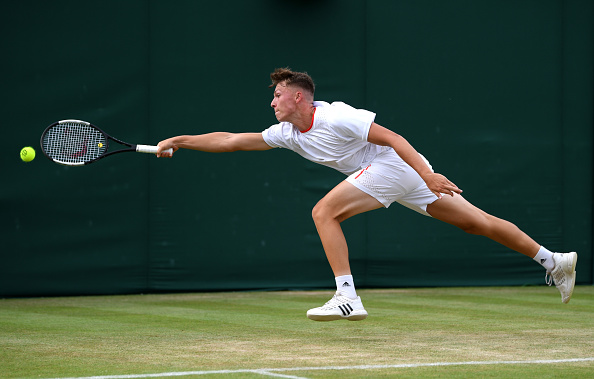 Wimbledon Juniors    Story sees off second seeded boy
