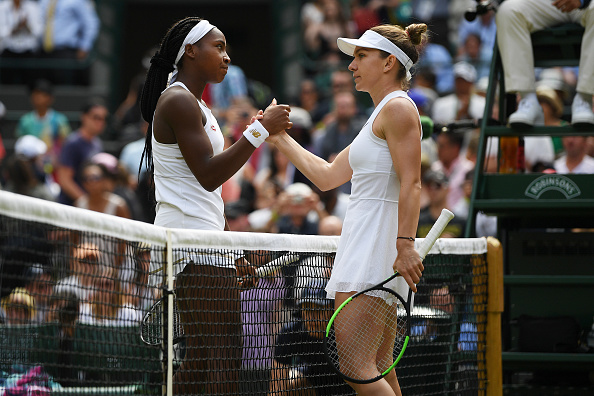 Wimbledon | Halep takes out CoCo