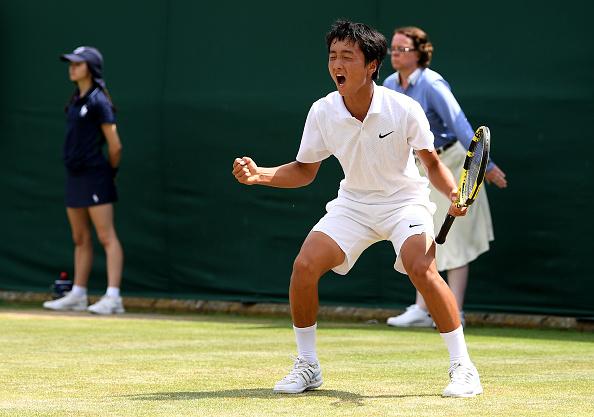 Junior Wimbledon   It's a Mochizuki / Gimeno Valero Boys Final