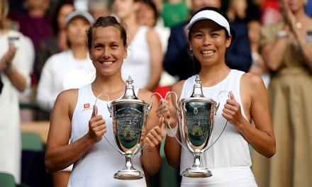 Wimbledon | Strycova & Hsieh take women's doubles title
