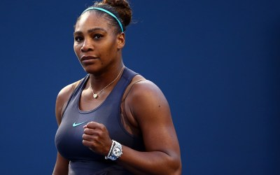 New York   First round blockbuster – Serena v Sharapova