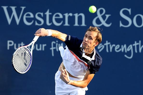 Cincinnati   Medvedev aims for third consecutive final