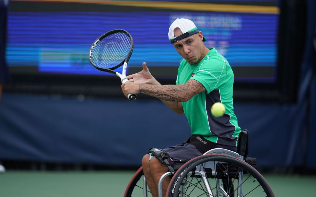 New York   Hewett and Lapthorne reach wheelchair singles finals