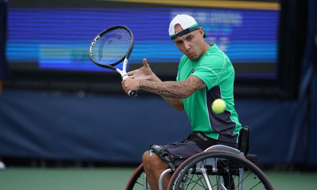 New York | Hewett and Lapthorne reach wheelchair singles finals