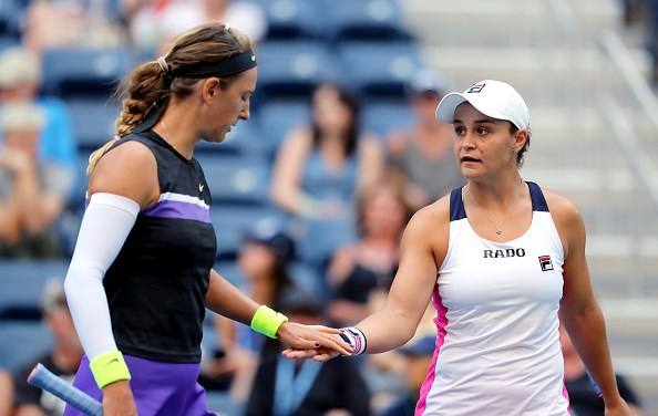 New York | Barty & Azarenka take out top seeds