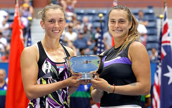 New York | Mertens & Sabalenka win first Grand Slam doubles title