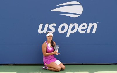 New York | Osorio Serrano wins Girls Singles title