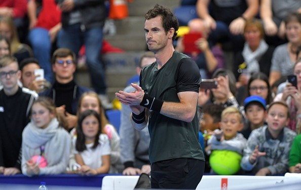 Antwerp | Murray keeps going