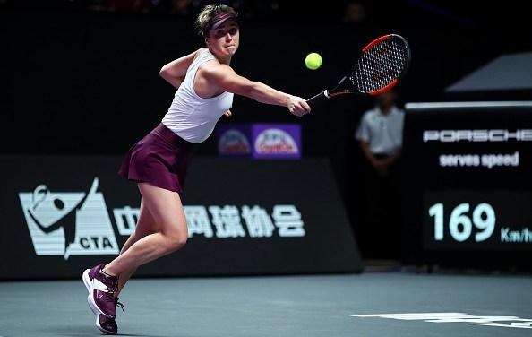 Shenzhen   Svitolina opens title defence with Pliskova win