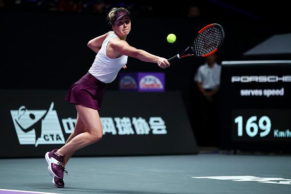 Shenzhen | Svitolina opens title defence with Pliskova win