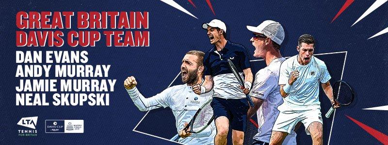 London | Leon Smith names Great Britain Davis Cup Squad