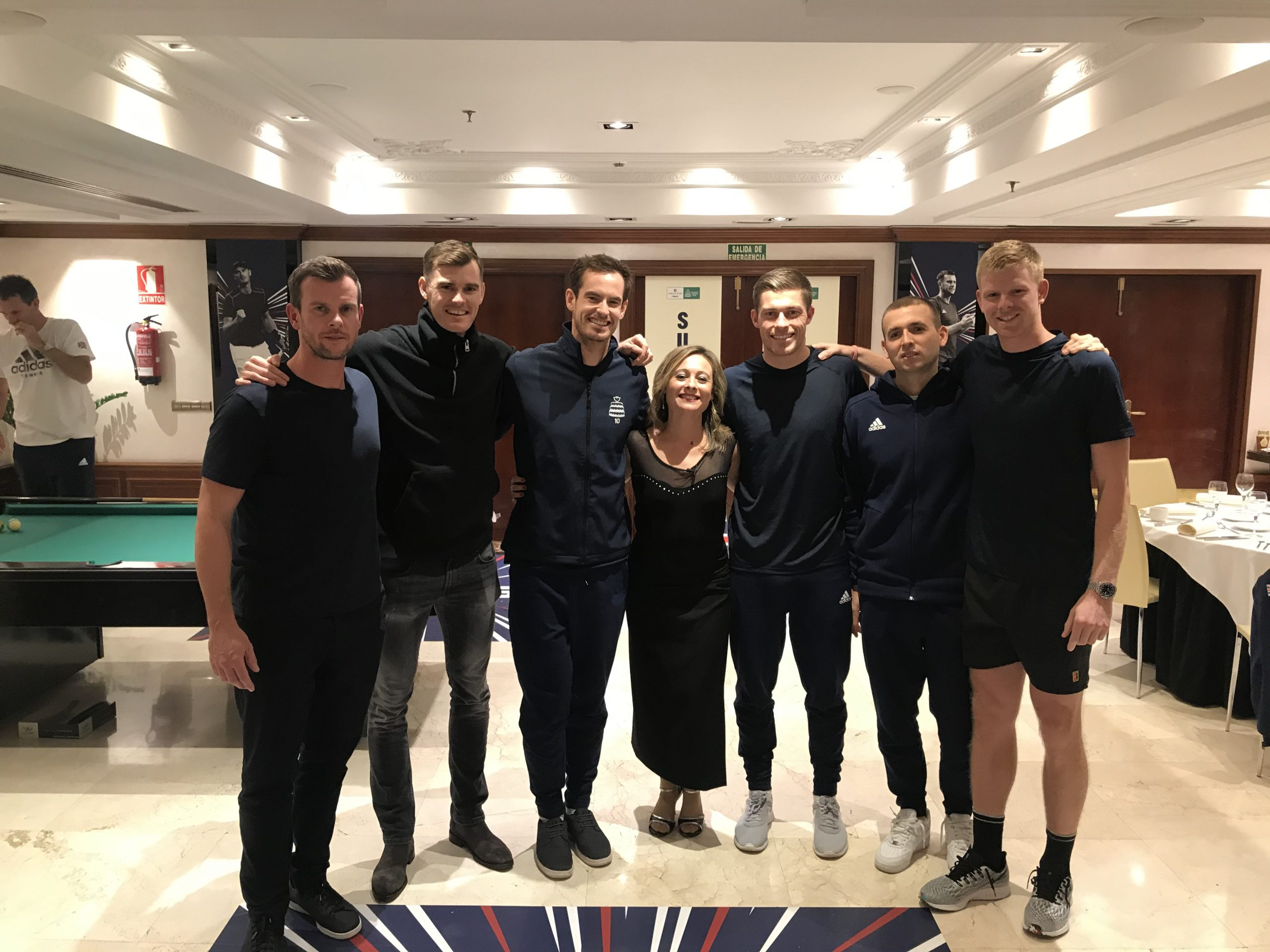 WATCH | Andy Murray and GB Davis Cup team take on the Strictly dancing challenge