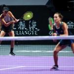 Shenzhen | Strycova & Hsieh v Babos & Mladenovic in doubles final