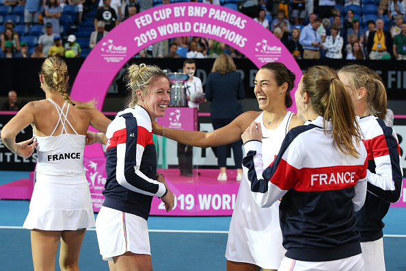 Perth | Mladenovic leads France to Fed Cup title