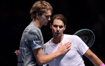 London   Zverev claims Nadal's scalp