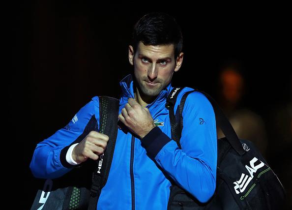 London   Djokovic knows what to do