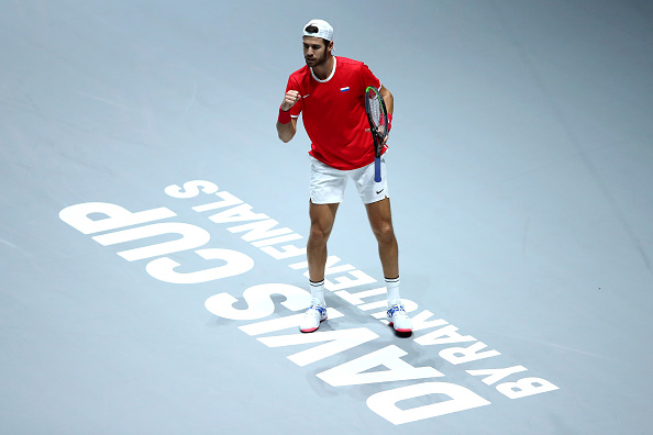 Madrid | Khachanov helps Russia beat Davis Cup champions Croatia