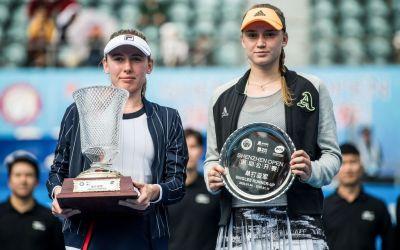 Shenzhen | Alexandrova wins maiden title