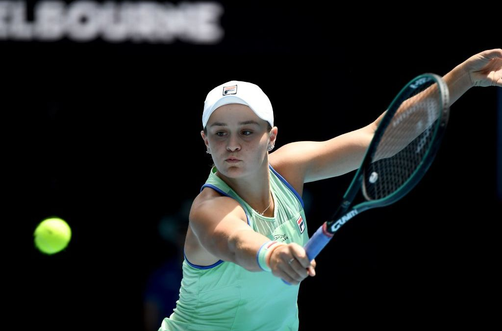 Melbourne   Barty battles past Kvitova into semi-finals