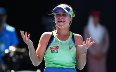 Melbourne   Kenin ends the Barty party