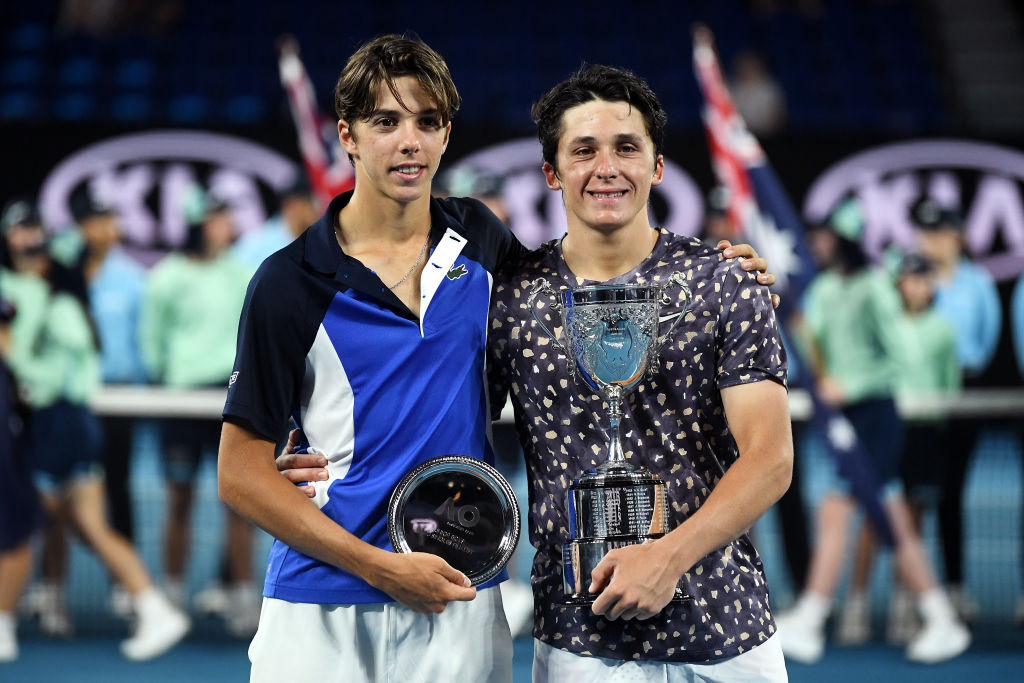 Melbourne | Mayot wins all-French Boys final