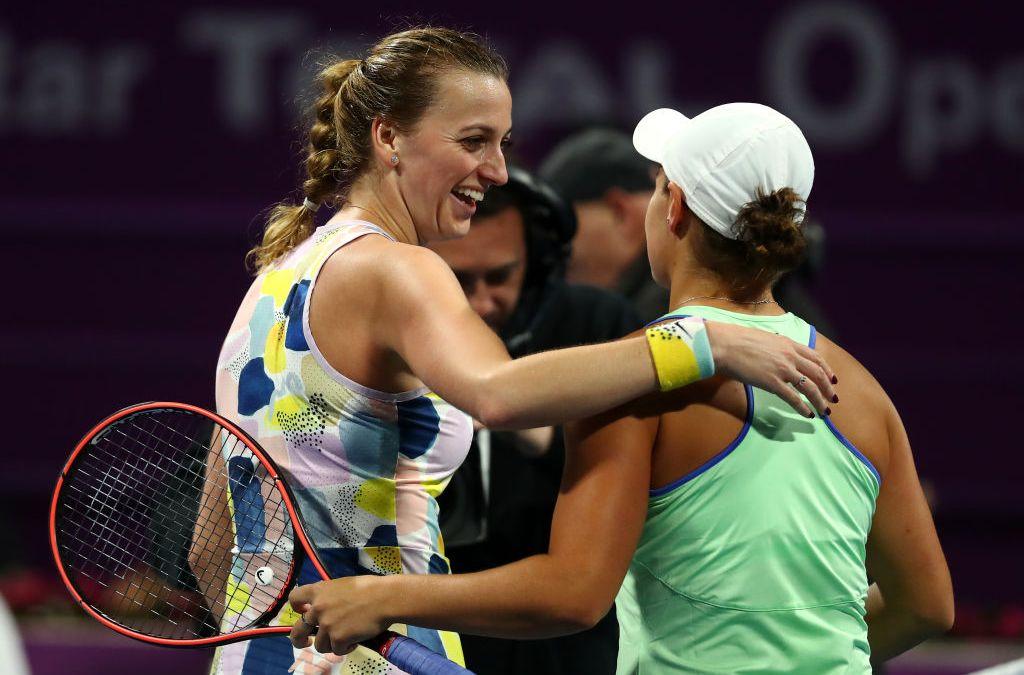 Doha | Kvitova outlasts Barty to meet Sabalenka in final