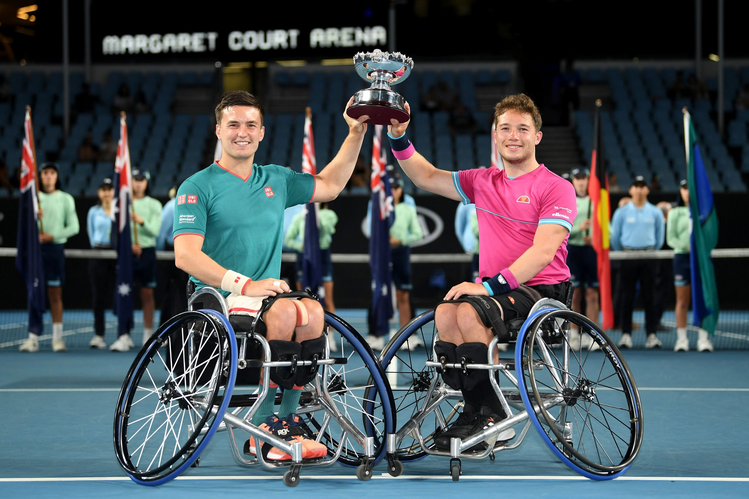 Melbourne | Brits Whiley, Hewett and Reid earn historic double titles