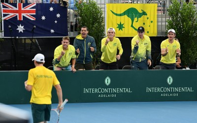 Adelaide | Aussie win as Davis Cup final line-up is completed
