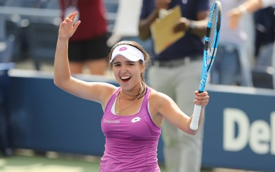 Colombian tennis on the move!