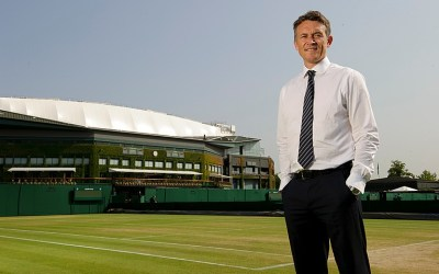 Wimbledon's green grass of home