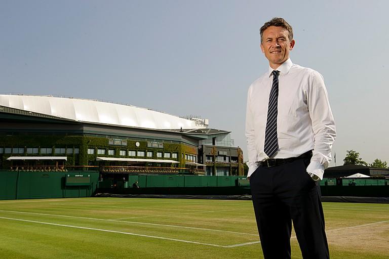 Wimbledon's green grass of home