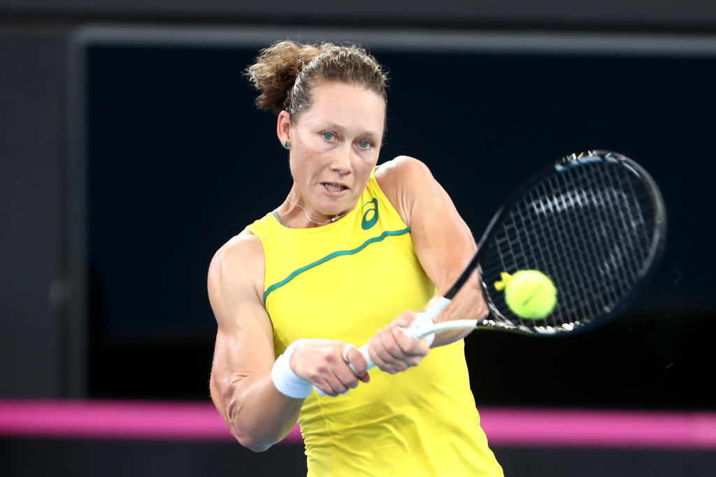 Stosur becomes a Mum