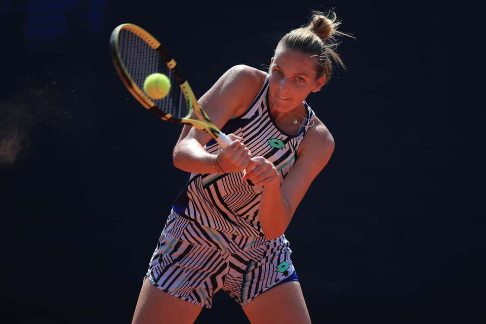 Pliskova and Mertens reach Prague quarters